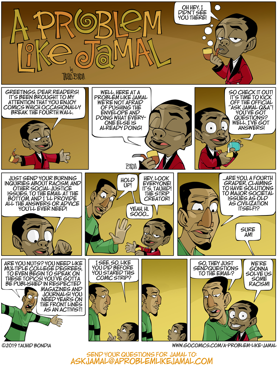 A Problem Like Jamal Comic Strip for March 20, 2019