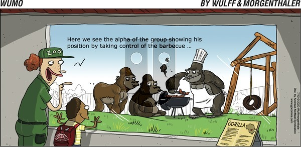 WuMo on Sunday July 12, 2020 Comic Strip