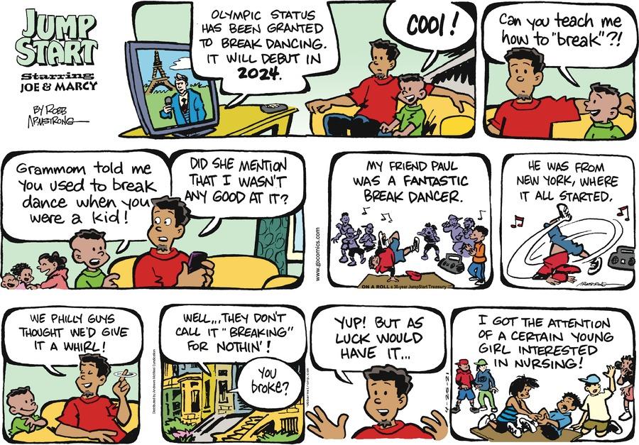 JumpStart Comic Strip for April 25, 2021