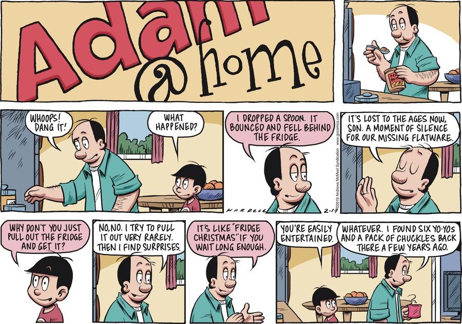 Adam@Home Comic Strip for February 17, 2019