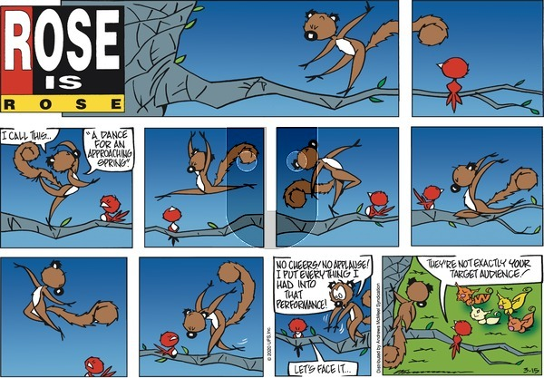 Rose is Rose - Sunday March 15, 2020 Comic Strip