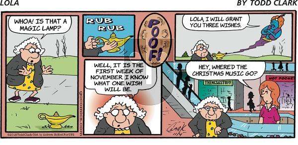 Lola on Sunday November 4, 2018 Comic Strip