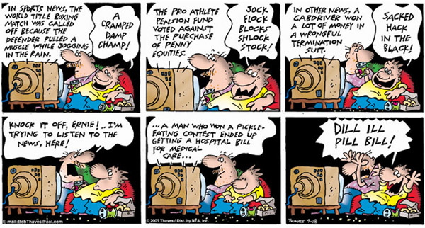 Frank and Ernest Comic Strip for September 18, 2005