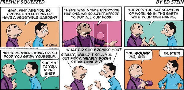Freshly Squeezed - Sunday May 3, 2020 Comic Strip