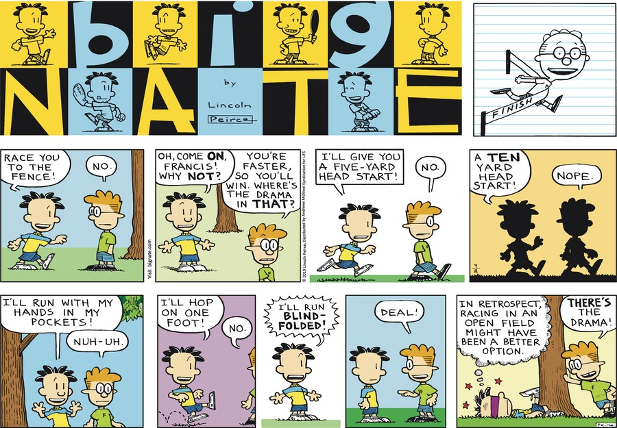 Big Nate Comic Strip for September 08, 2019