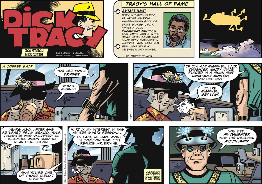 Dick Tracy Comic Strip for December 03, 2017