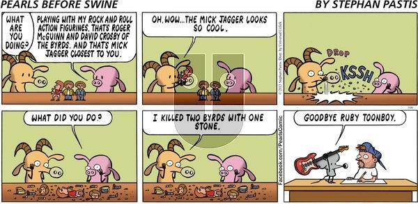 Pearls Before Swine on Sunday October 6, 2013 Comic Strip