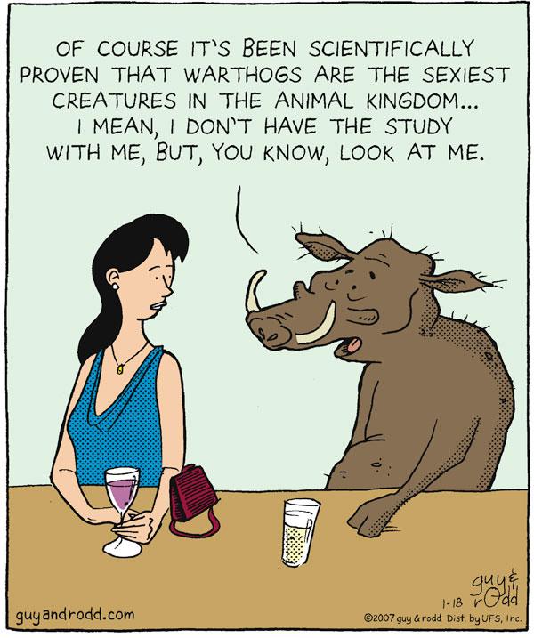 Brevity for Jan 18, 2007 Comic Strip