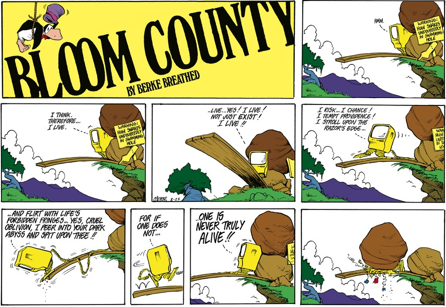 Bloom County Comic Strip for August 31, 2021