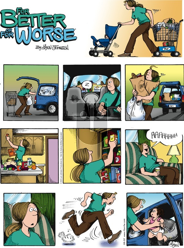 For Better or For Worse - Sunday August 2, 2020 Comic Strip