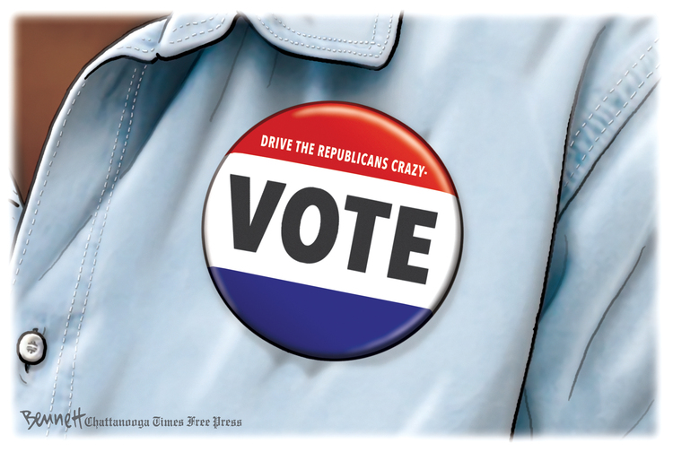 Clay Bennett Comic Strip for March 02, 2021