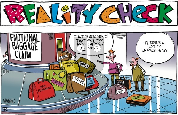 Reality Check on Sunday August 2, 2020 Comic Strip