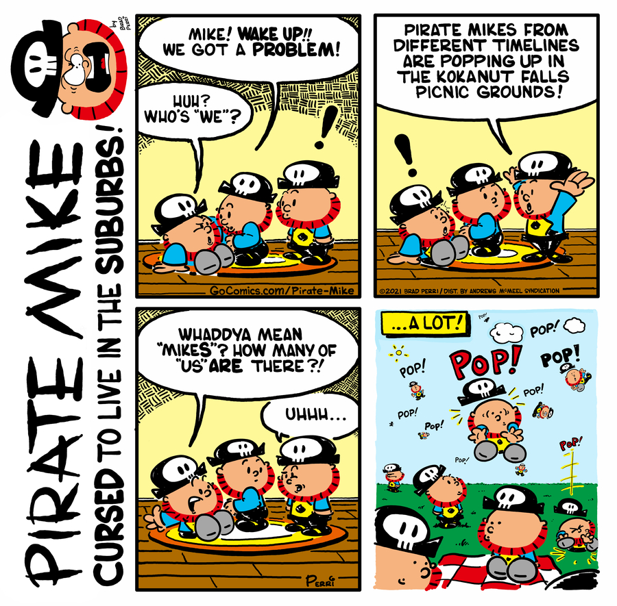 Pirate Mike Comic Strip for May 12, 2021