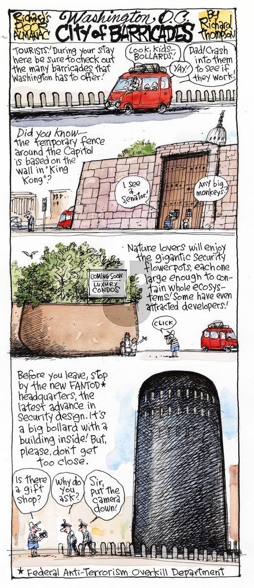 Richard's Poor Almanac on Sunday April 12, 2015 Comic Strip
