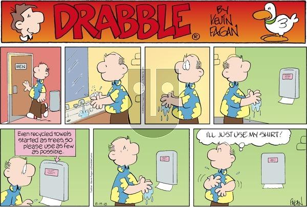 Drabble on Sunday August 19, 2018 Comic Strip