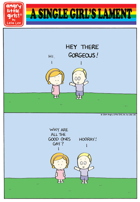 Angry Little Girls Comic Strip for June 07, 2021