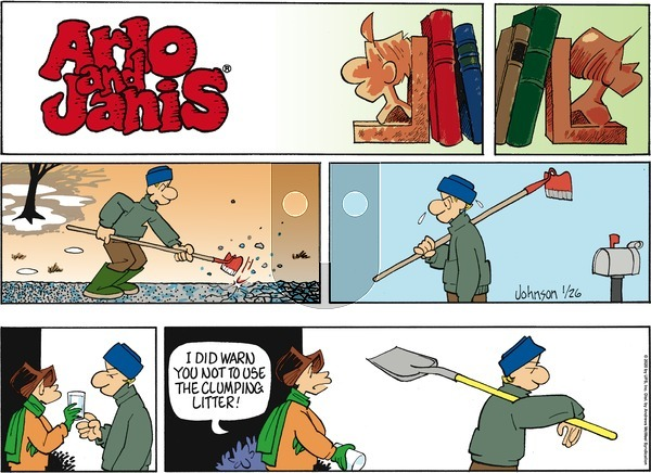 Arlo and Janis on Sunday January 26, 2020 Comic Strip