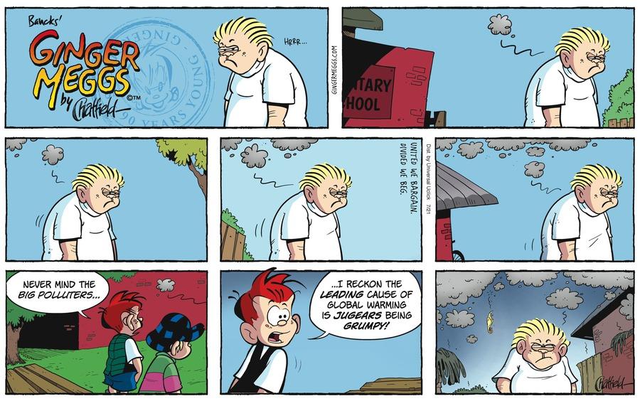 Ginger Meggs for Jul 21, 2013 Comic Strip