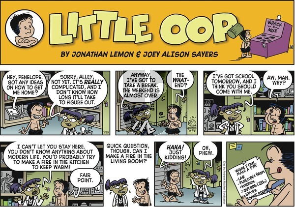 Alley Oop on Sunday March 29, 2020 Comic Strip