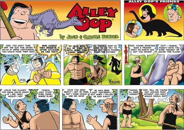 Alley Oop on Sunday August 26, 2018 Comic Strip