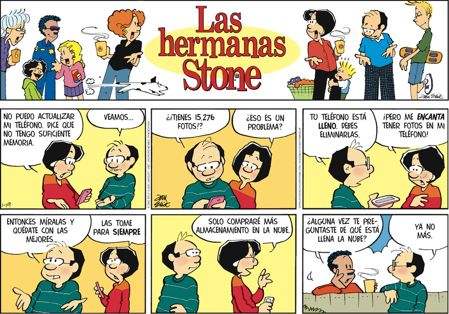 Las Hermanas Stone Comic Strip for January 19, 2020