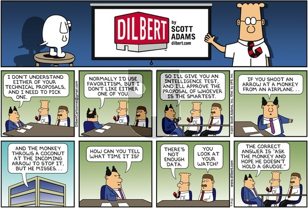Dilbert on Sunday September 19, 2010 Comic Strip