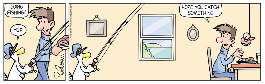 Ollie and Quentin Comic Strip for April 09, 2016