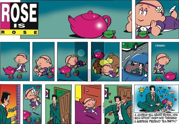 Rose is Rose on Sunday October 1, 2017 Comic Strip