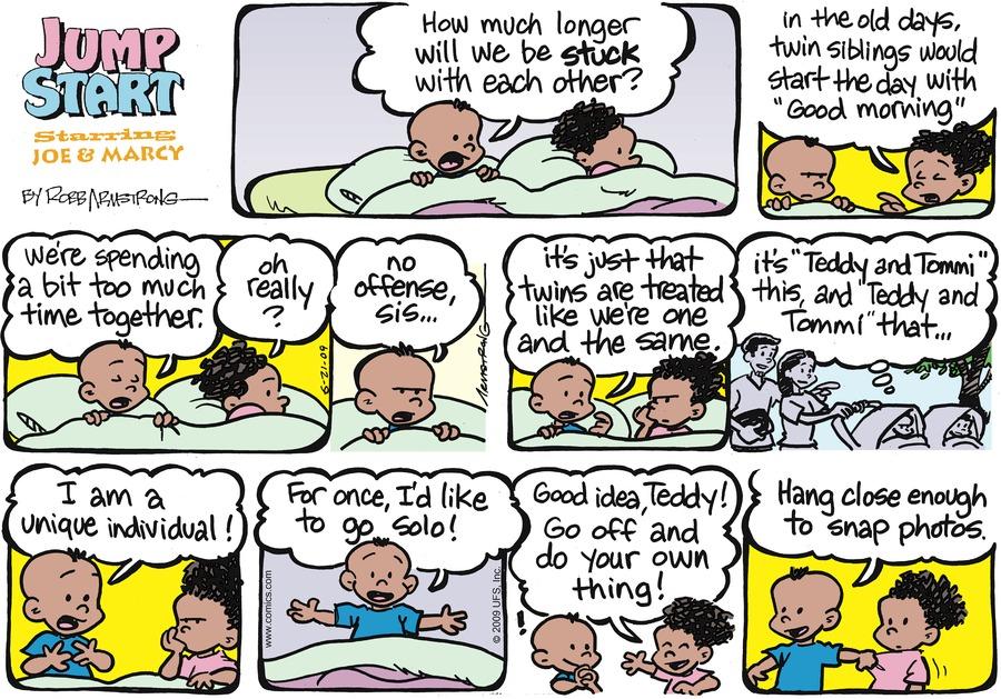 JumpStart Comic Strip for June 21, 2009