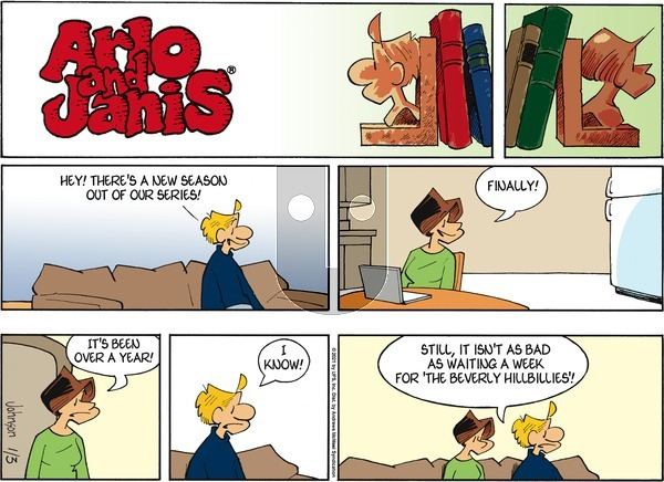 Arlo and Janis on Sunday January 3, 2021 Comic Strip