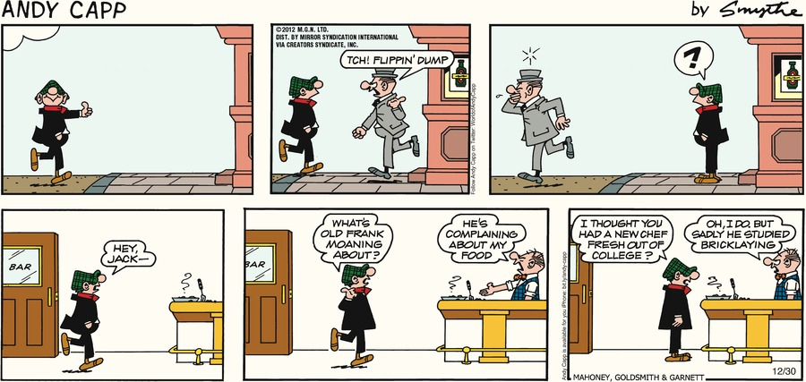 Andy Capp for Dec 30, 2012 Comic Strip