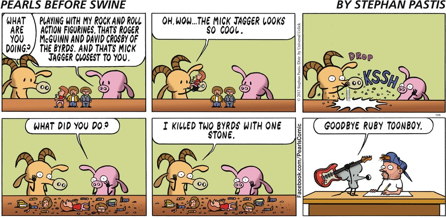 Pearls Before Swine for Oct 6, 2013 Comic Strip