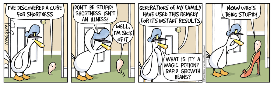 Ollie and Quentin Comic Strip for March 30, 2017