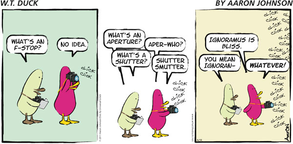 W.T. Duck Comic Strip for January 13, 2019