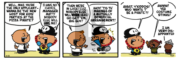Pirate Mike on Wednesday February 20, 2019 Comic Strip