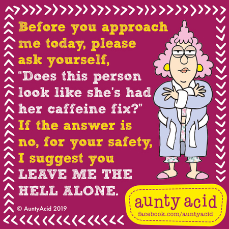 Aunty Acid by Ged Backland for March 10, 2019