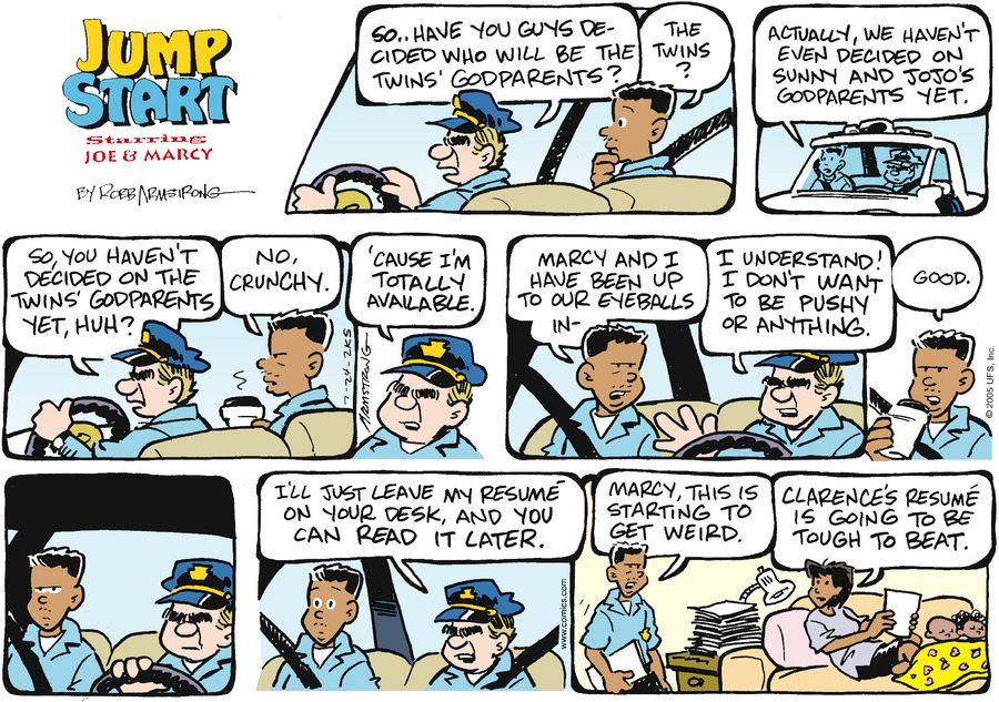 JumpStart Comic Strip for July 24, 2005