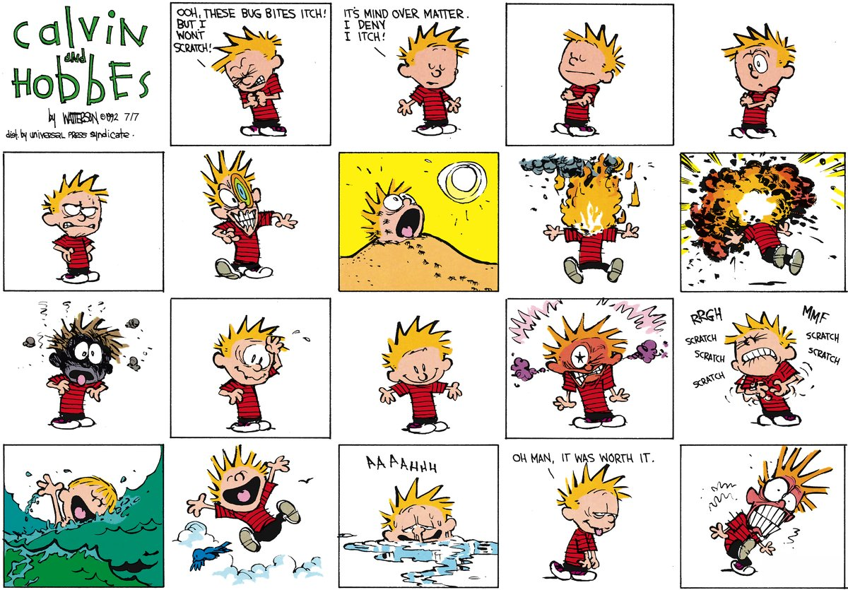 Calvin and Hobbes for Aug 26, 2012 Comic Strip