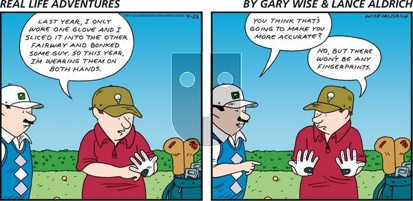 Real Life Adventures on Sunday April 23, 2017 Comic Strip