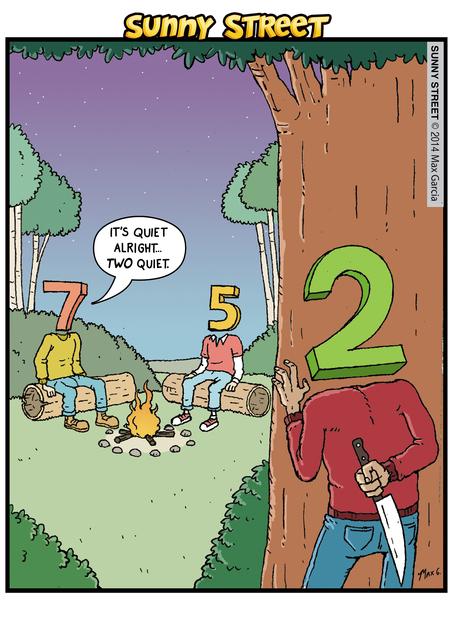 Sunny Street Comic Strip for June 16, 2014