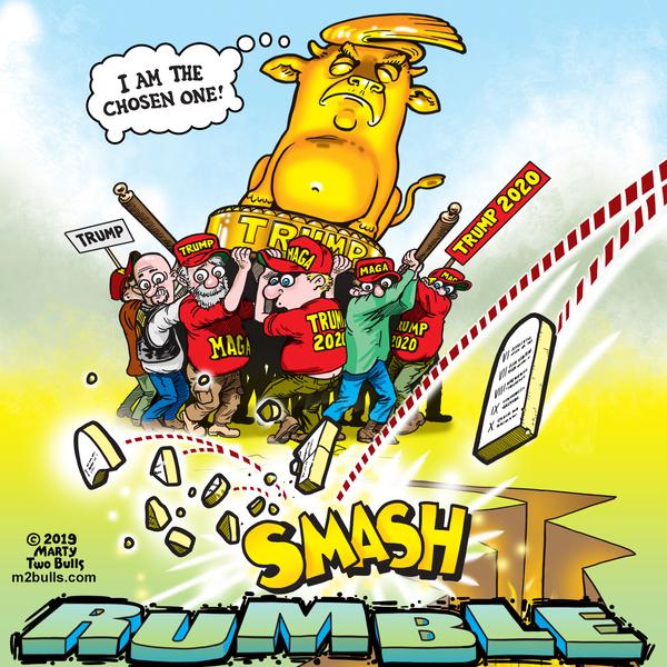 M2Bulls Comic Strip for October 21, 2019