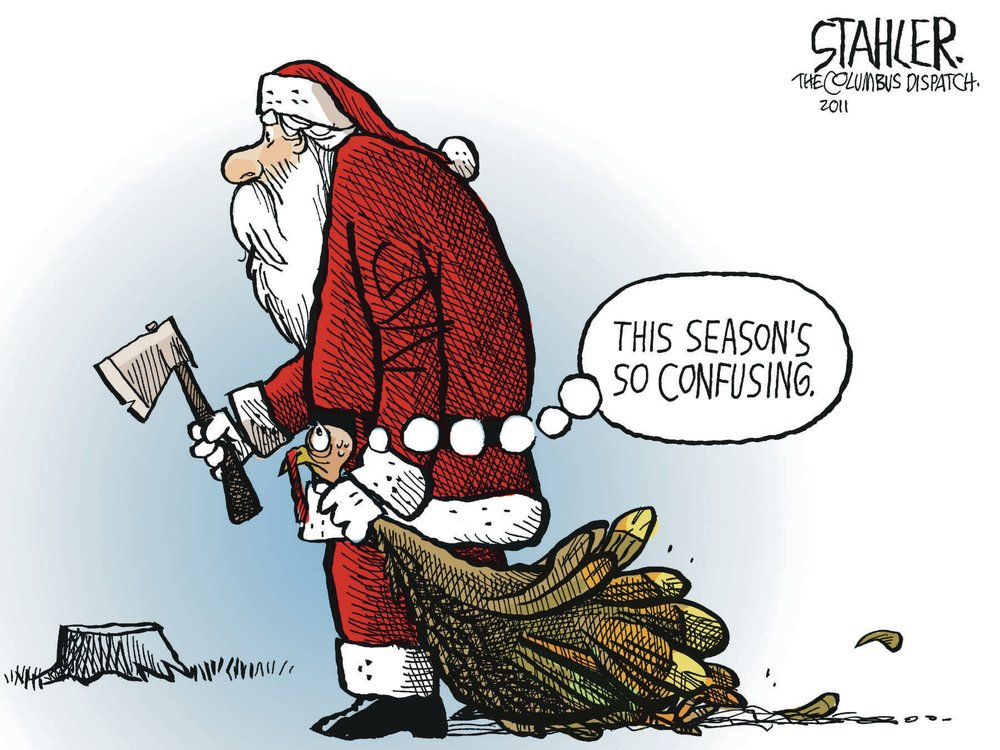 Jeff Stahler Comic Strip for November 20, 2011