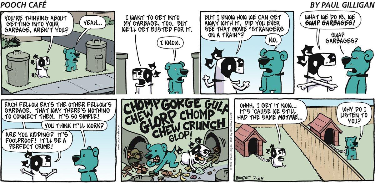 Pooch Cafe Comic Strip for July 29, 2012