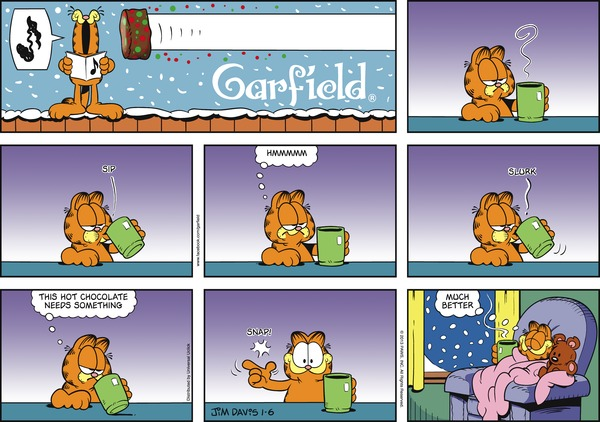 Collectible Print of garfield
