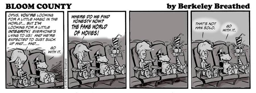 Bloom County 2019 Comic Strip for June 07, 2018