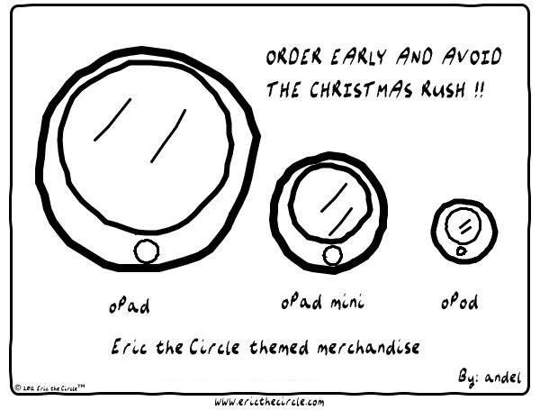 Eric the Circle for Dec 18, 2013 Comic Strip