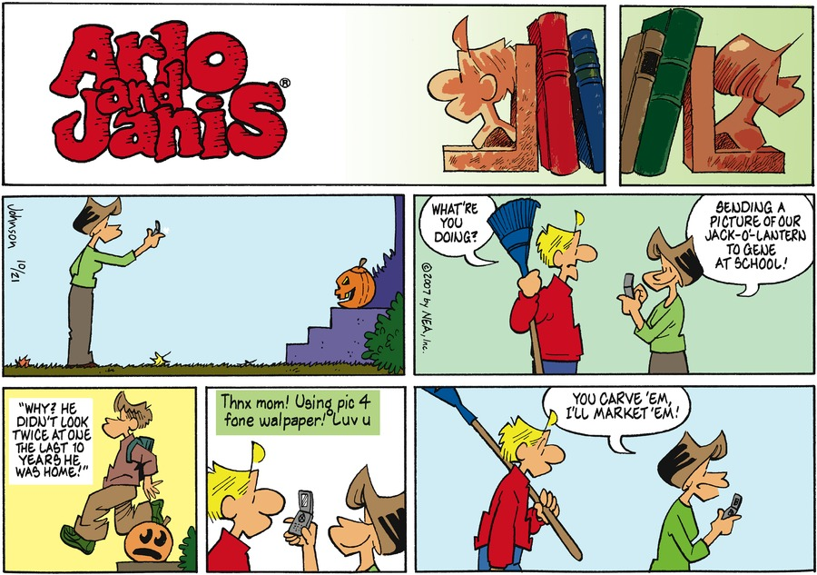 Arlo and Janis Comic Strip for October 21, 2007