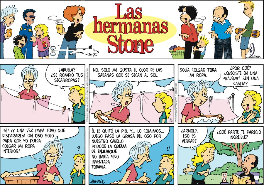 Las Hermanas Stone by Jan Eliot for Jul 29, 2018