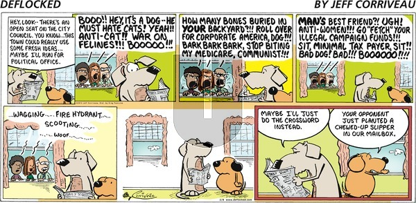 DeFlocked on Sunday February 8, 2015 Comic Strip