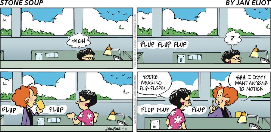 Stone Soup Comic Strip for April 28, 2019